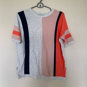 Striped T Shirt Top - Oliver Bonas
